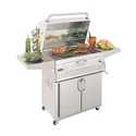 """Picture of Firemagic Stand Alone Legacy 24"""" Cabinet Charcoal Grill"""