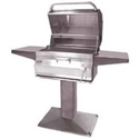 """Picture of Firemagic Patio Post Legacy 24"""" Charcoal Grill"""