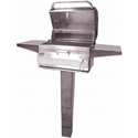 """Picture of Firemagic In-Ground Post Legacy 24"""" Charcoal Grill"""
